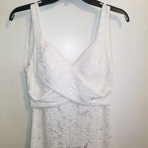 White & Silver Long Dress, Windsor